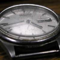 orologio graffiato rimedi