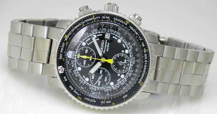 Seiko Alarm Chronograph SNA411P1_